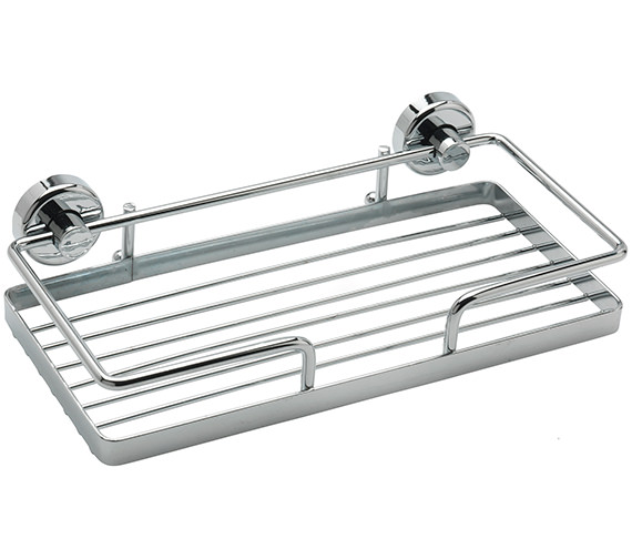 Sagittarius 260 x 130mm Rectangular Wire Soap Basket