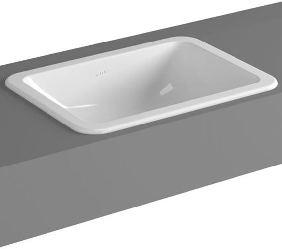 VitrA S20 550mm Square Countertop Basin