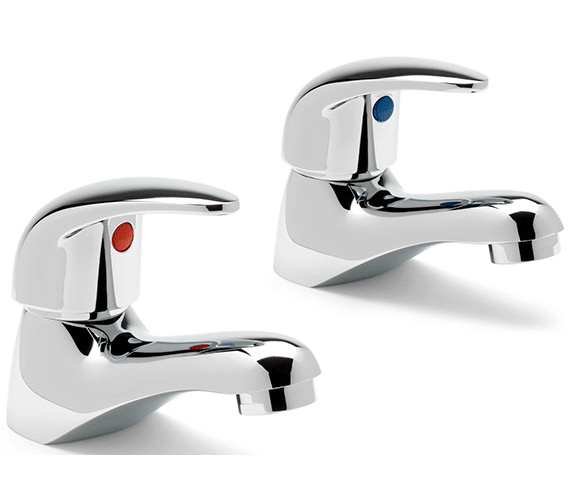 Sagittarius Prestige Pair Of Basin Taps