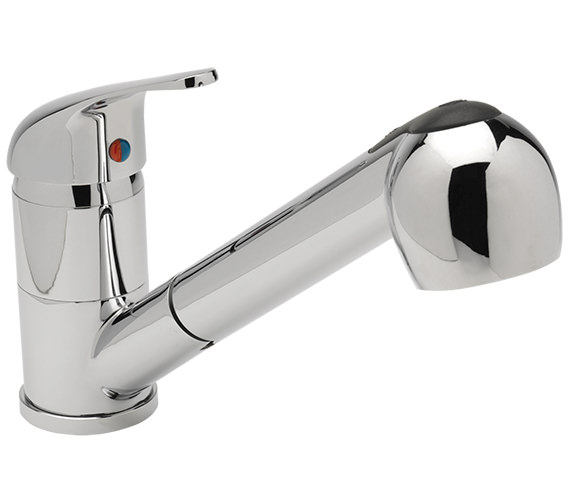 Sagittarius Prestige Pull Out Spray Head Kitchen Sink Mixer Tap