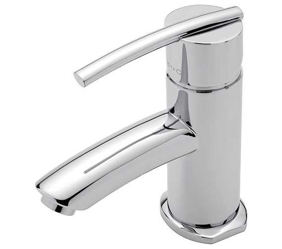 Sagittarius Pure Monobloc Basin Mixer Tap With Sprung Waste