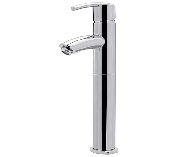 Sagittarius Pure Extended Monobloc Basin Mixer Tap Without Waste