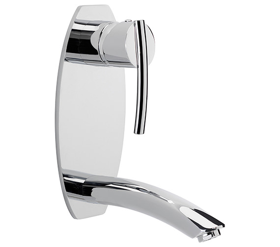 Sagittarius Pure Wall Mounted Basin Mixer Tap