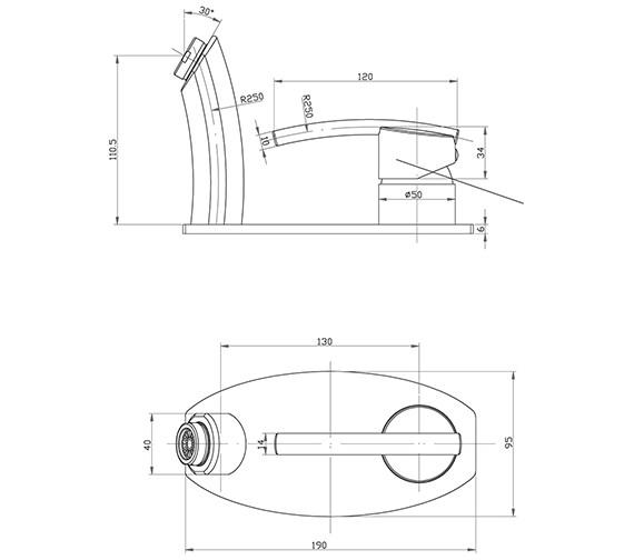 Technical drawing QS-V78738 / PU/207/C