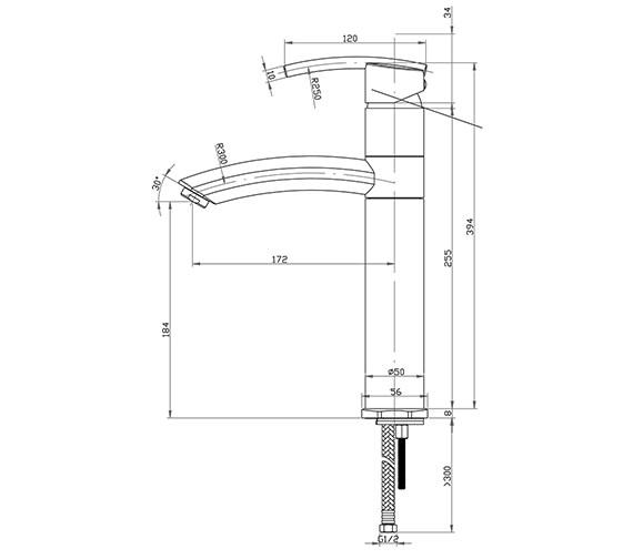 Technical drawing QS-V30465 / PU/154/C