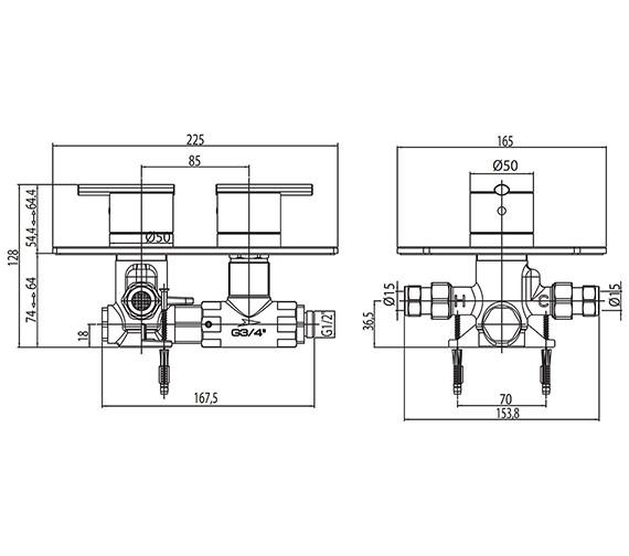 Technical drawing QS-V923567 / PU/172/C