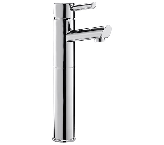 Sagittarius Rocco Extended Monobloc Basin Mixer Tap With Sprung Waste