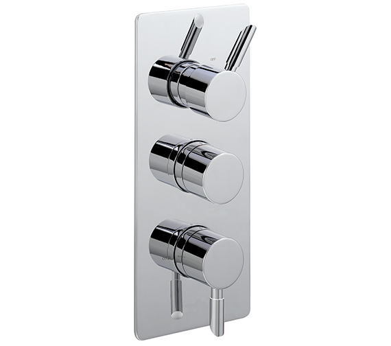 Sagittarius Rocco Concealed Thermostatic Shower Valve With 3 Way Diverter
