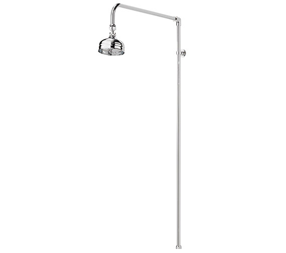 Sagittarius Churchmans Shower Rigid Riser Kit Chrome