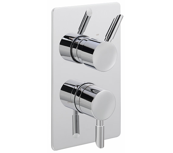 Sagittarius Rocco Concealed Thermostatic Shower Valve With 2 Way Diverter