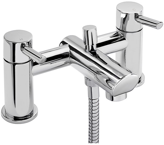 Sagittarius Rocco Deck Mounted Bath Shower Mixer Tap With No.1 Kit