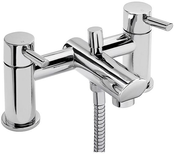Sagittarius Rocco Deck Mounted Bath Shower Mixer Tap With No.1 Kit