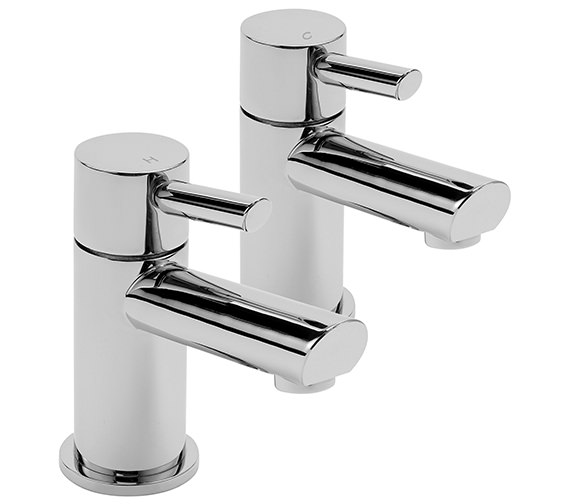 Sagittarius Rocco Pair Of Basin Taps