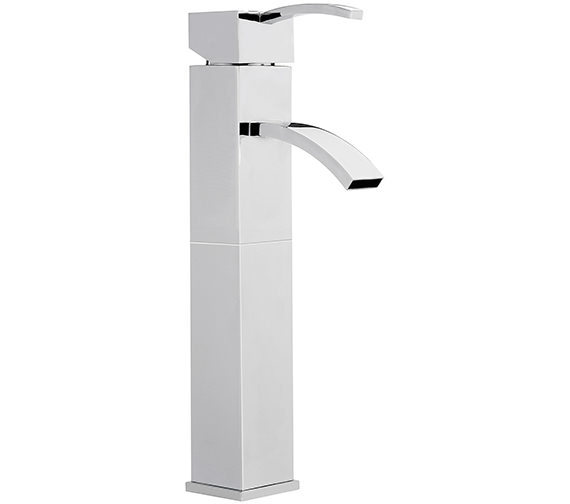 Sagittarius Arke Extended Monobloc Basin Mixer Tap Without Waste