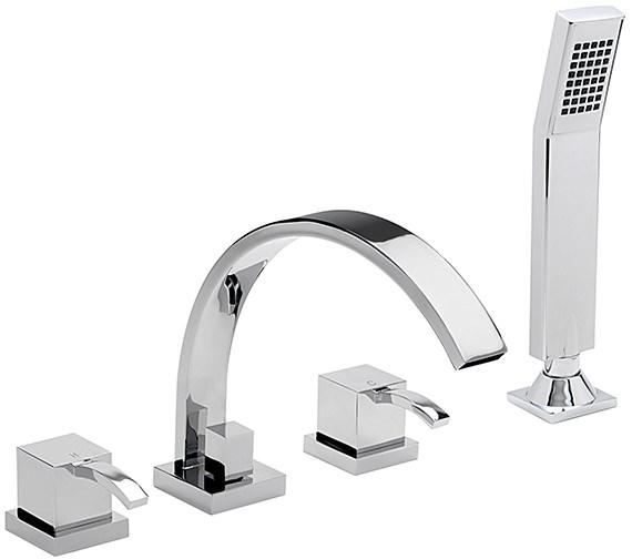 Sagittarius Arke 4 Hole Deck Mounted Bath Shower Mixer Tap