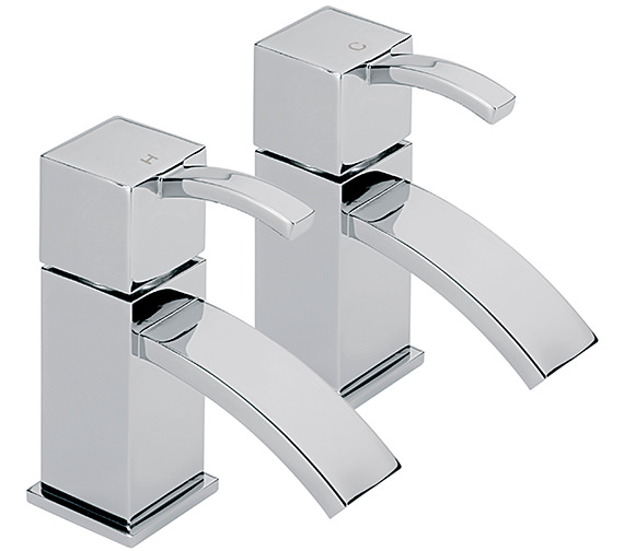 Sagittarius Arke Pair Of Basin Taps