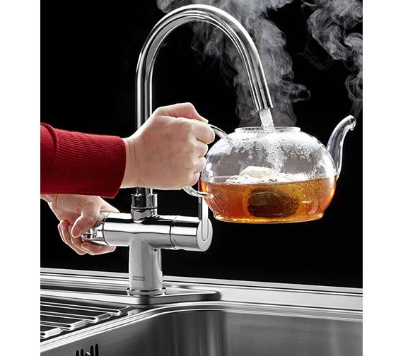 Additional image of Franke Minerva 3-In-1 Instant Boiling Water Kettle Kitchen Sink Tap