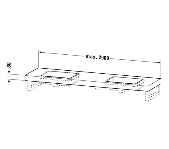 Technical drawing QS-V4505 / FO091C01818