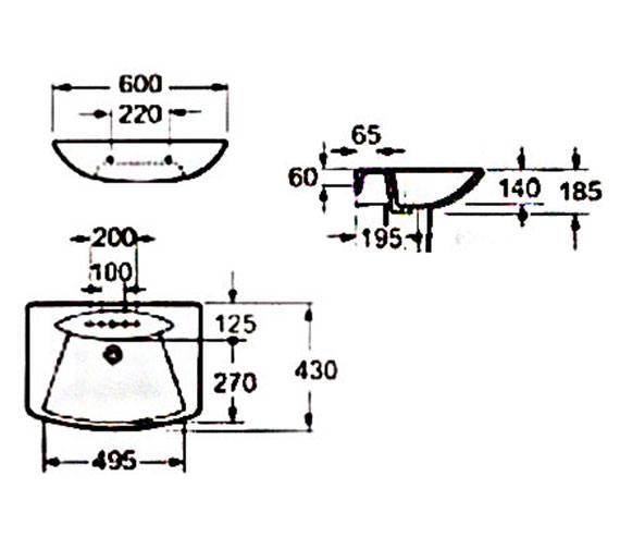 Technical drawing QS-V37486 / LA004