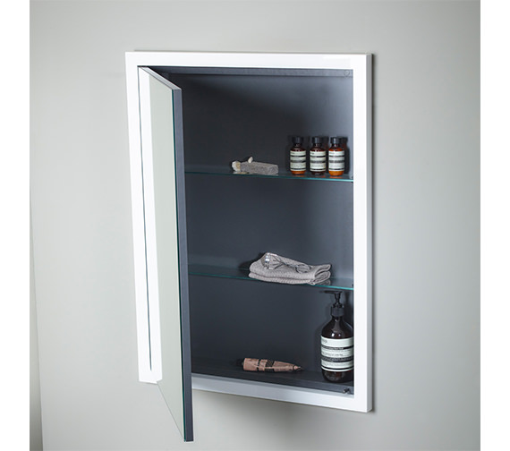 Additional image of Roper Rhodes Scheme 640 x 830mm Recessed Mirror Cabinet
