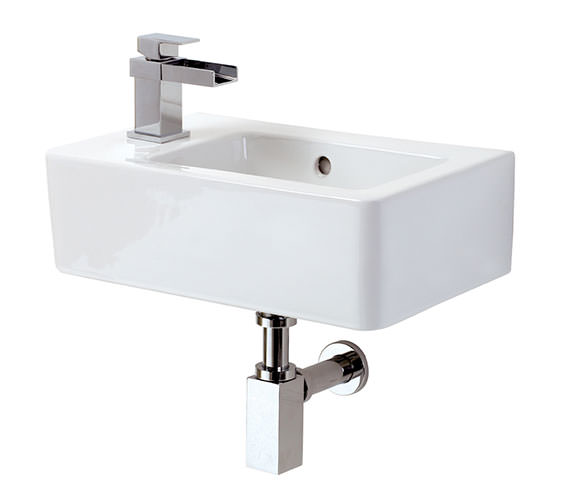 Phoenix Qube 465mm Wall Mounted Basin
