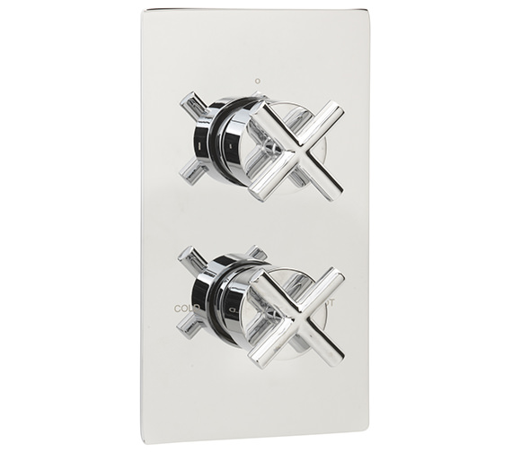 Sagittarius Avant Concealed Thermostatic Shower Valve With 2 Way Diverter