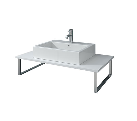 Duravit X-Large 1000 x 480mm White Matt Fixed Console - XL010CW01818