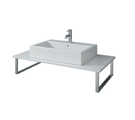 Duravit X-Large 1600 x 550mm White Matt Fixed Console - XL025CY01818