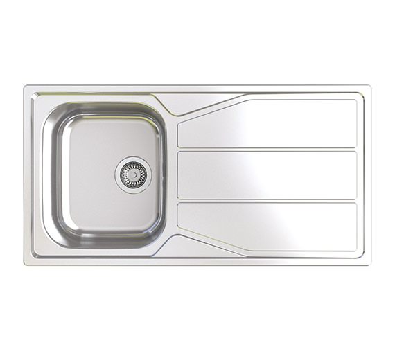 Astracast Elan 1.0 Bowl Polished Stainless Steel Inset Sink