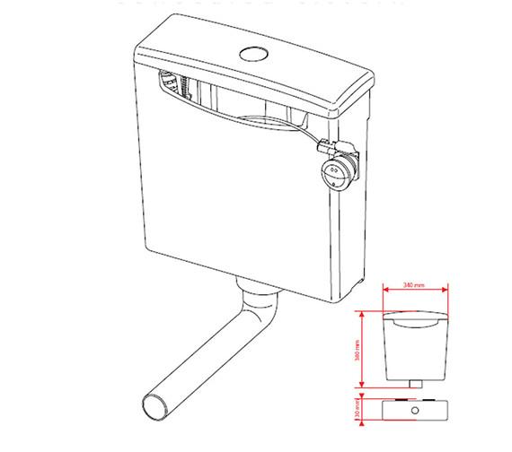 Technical drawing QS-V41931 / 50717354