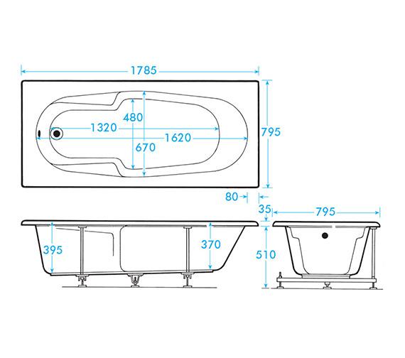 Technical drawing QS-V59926 / AB0246