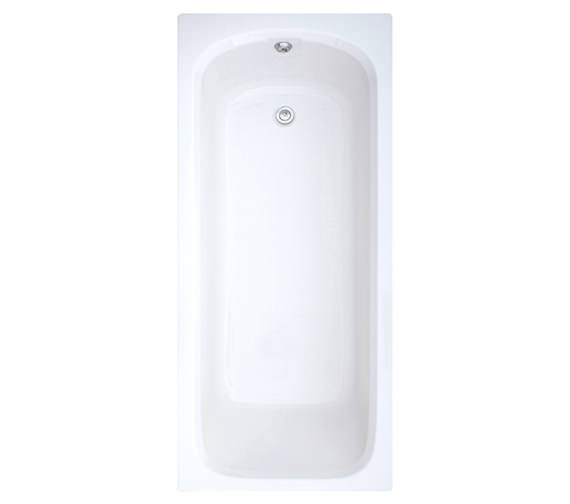 Trojan Derwent White Single Ended Bath 1600 x 700mm NTH