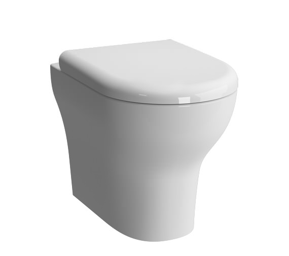 VitrA Zentrum 355 x 520mm Back To Wall WC Pan