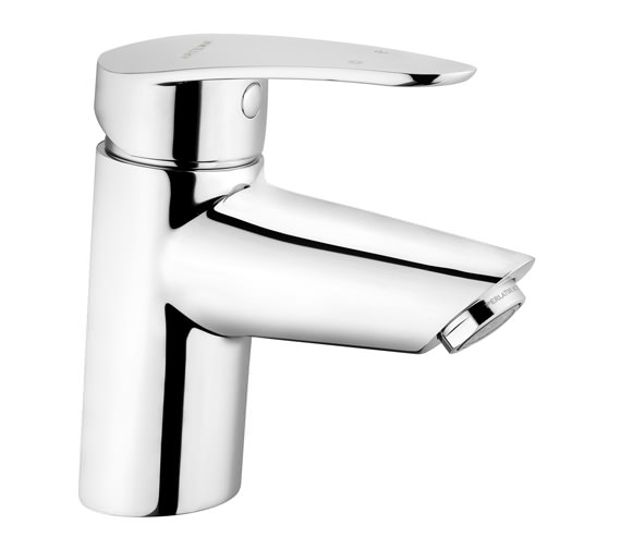 VitrA Dynamic S Basin Mixer Tap Chrome Without Waste - A40950VUK