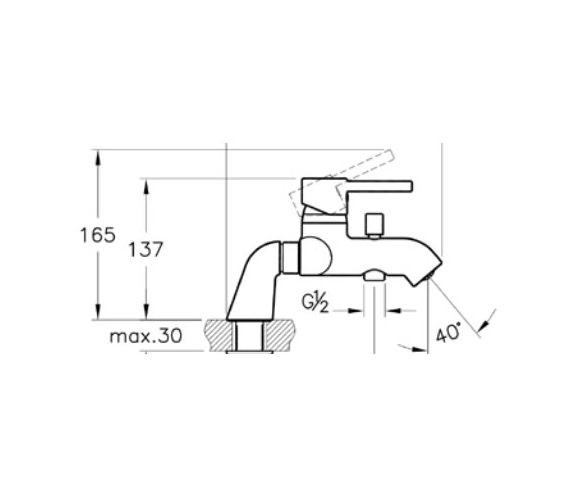 Technical drawing QS-V57888 / A42112VUK