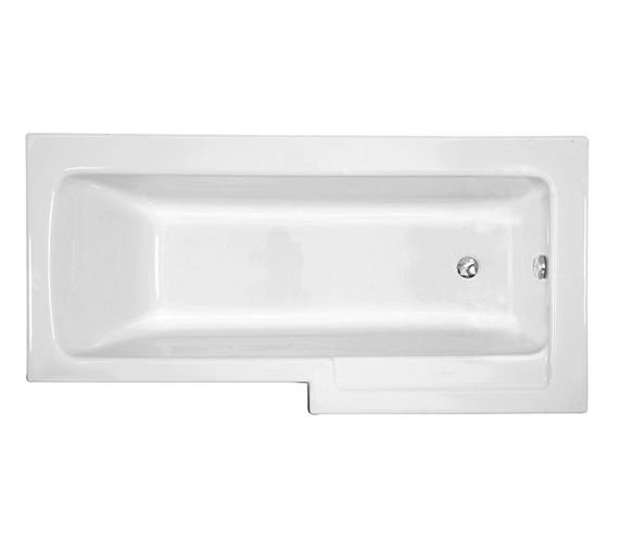 VitrA Neon 1700 x 750mm Right Handed Shower Bath