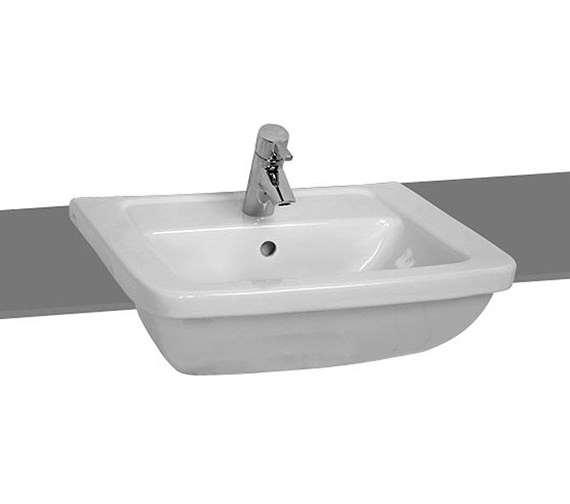 VitrA Form 300 Semi-Recessed Basin 550mm - 5230B003-0001