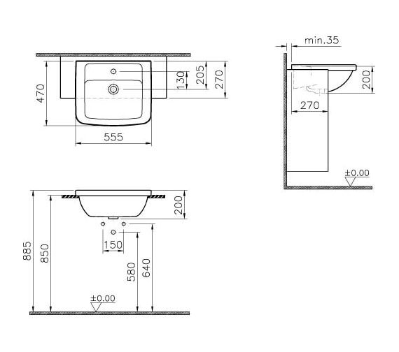 Technical drawing QS-V59728 / 5230B003-0001