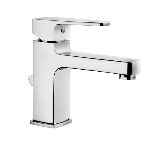 VitrA Q-Line Basin Mixer Tap With Pop-Up Waste Chrome - A40776VUK