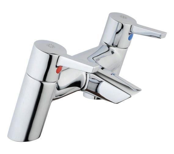 VitrA Slope Deck Mounted Bath Filler Tap Chrome - A40473VUK