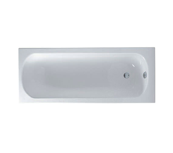 VitrA Optima 1600 x 700mm Rectangular Standard Bath