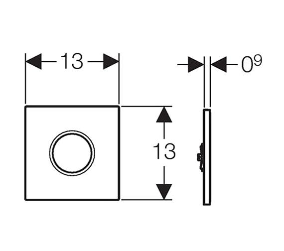 Technical drawing QS-V16028 / 116.031.11.5
