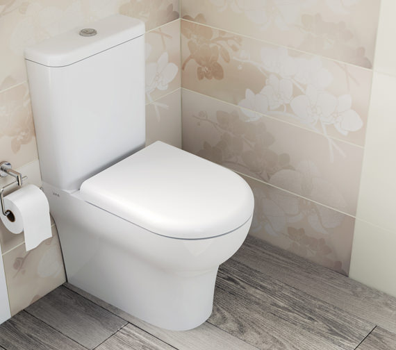 VitrA Zentrum Closed Back Close Coupled WC Pan With Cistern