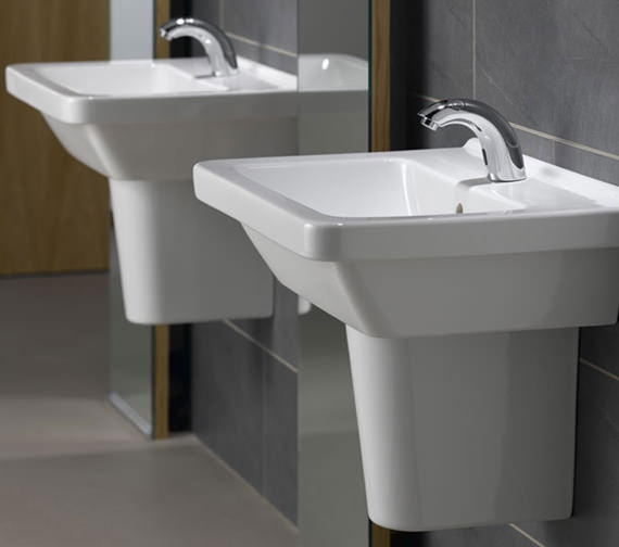 VitrA S50 Square Washbasin 450mm Wide