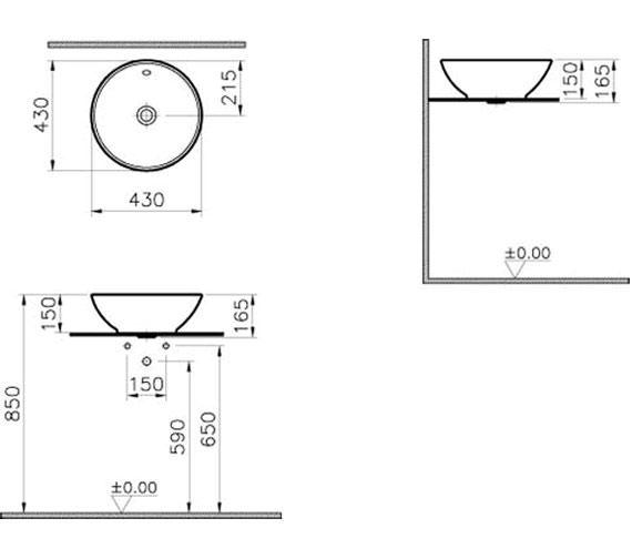 Technical drawing QS-V57840 / 4324B003-0012