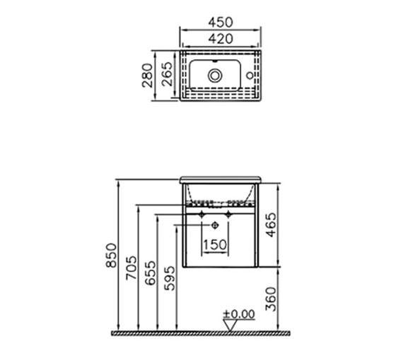 Technical drawing QS-V63127 / 53031