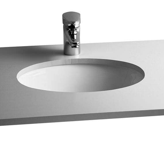 VitrA Commercial Arkitekt 420mm Wide Under-Counter Oval Basin