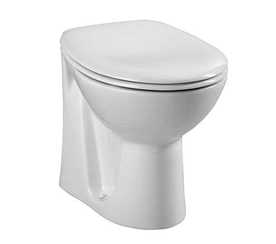 VitrA Layton 480mm Back-To-Wall WC Pan
