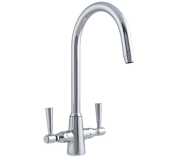 Astracast Jordan Monobloc Twin Lever Kitchen Sink Mixer Tap