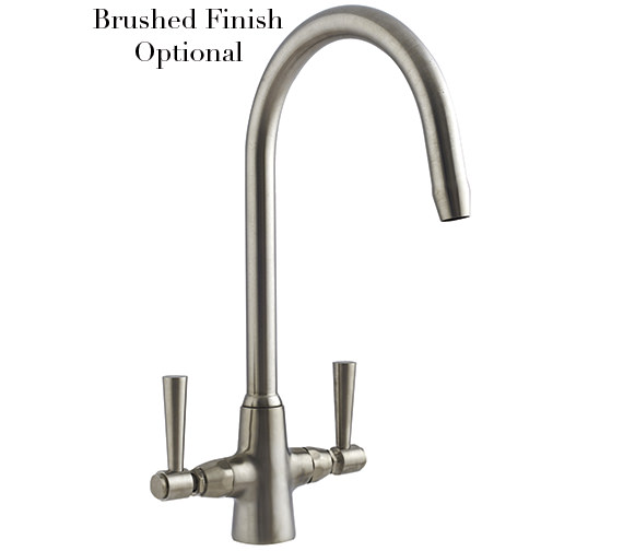 Alternate image of Astracast Jordan Monobloc Twin Lever Kitchen Sink Mixer Tap